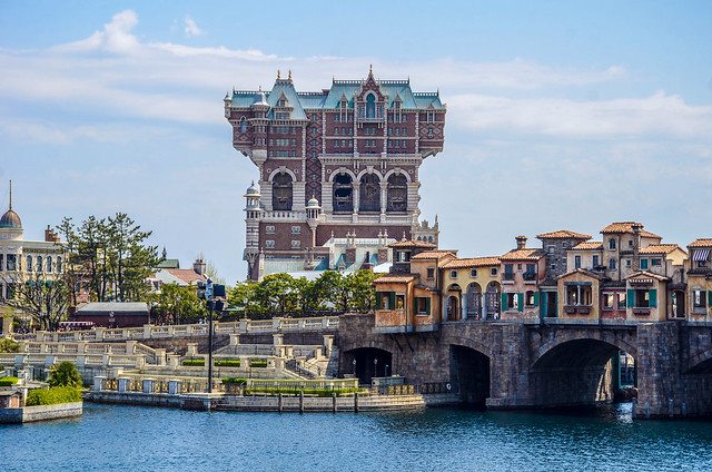 Tower of Terror and Mediterranean Harbor TDS