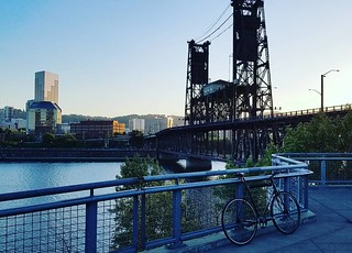Steamroller and Steel Bridge