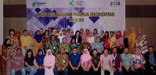Reviu Pagu Anggaran Pusat dan Dekonsentrasi Tahun 2019