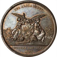 1865 New York State Volunteers Obverse