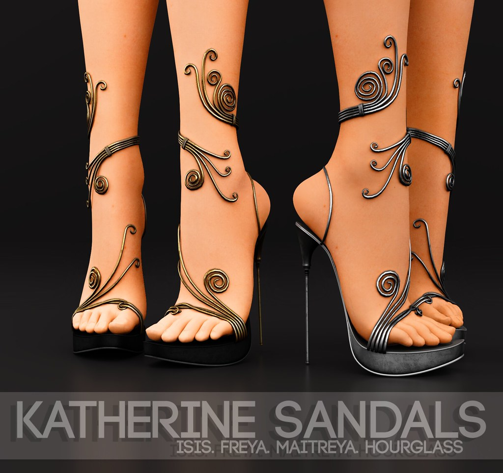 Pure Poison – Katherine Sandals AD