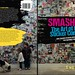 Smashed The Art of The Sticker Combo - Street Art Photography Book by iwillnot by iwillnot