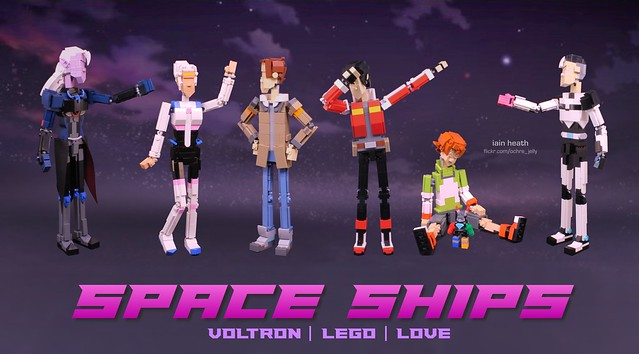 \ SPACE SHIPS / Voltron | Lego | Love