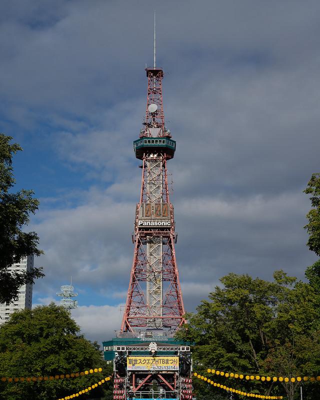 テレビ塔8月
