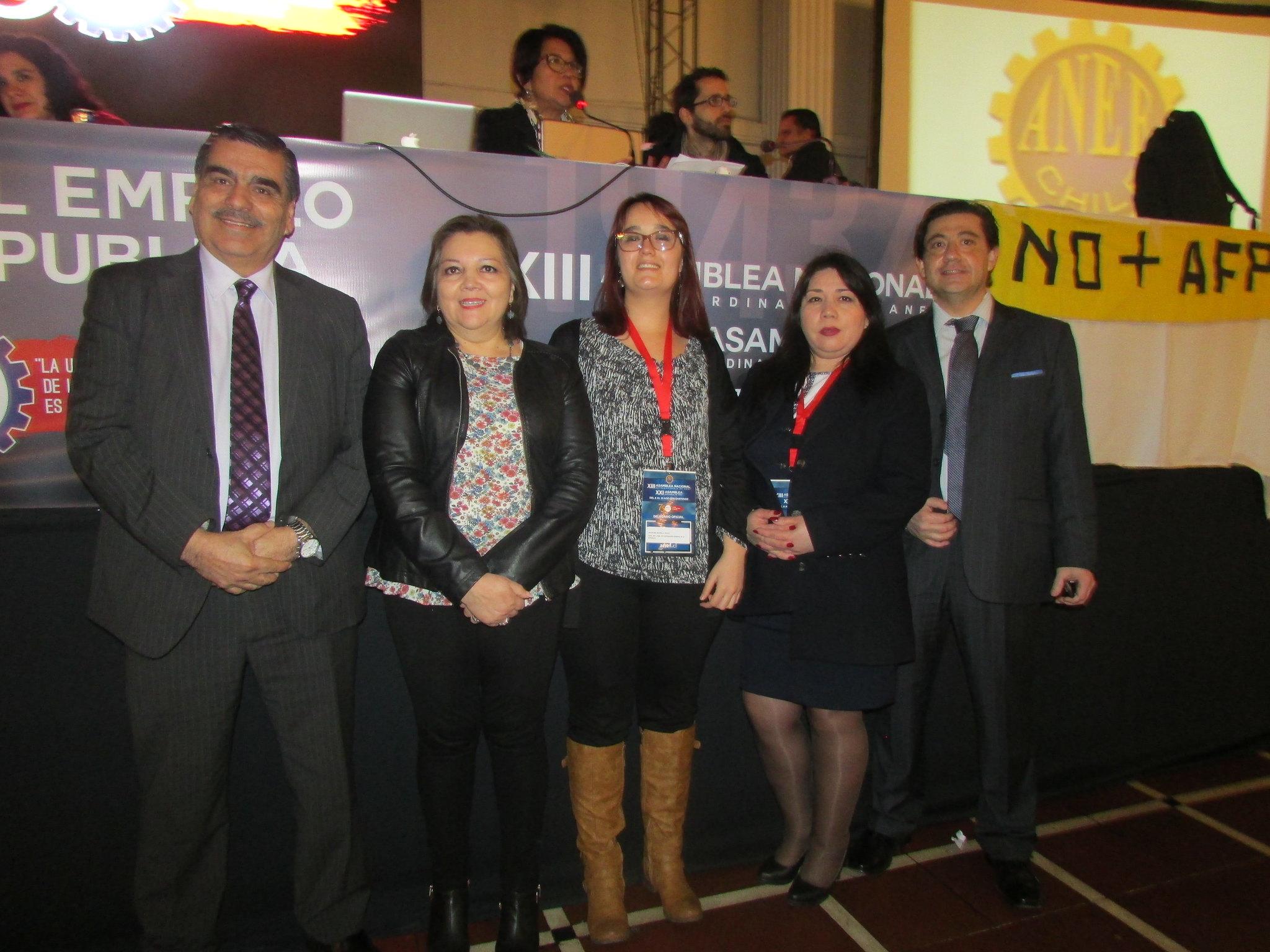 ANEC participa en Asamblea Nacional Ordinaria y Extraordinaria ANEF – 10 Agosto 2018