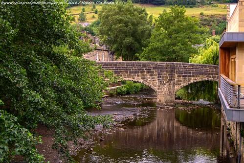 Hebden Old Bridge.