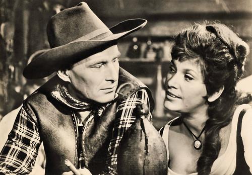 Hannjo Hasse and Brigitte Krause in Die Söhne der großen Bärin (1966)