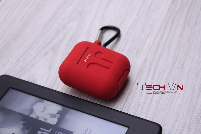 TechVn - Case airpods ROCK ốp bảo vệ airpods 06