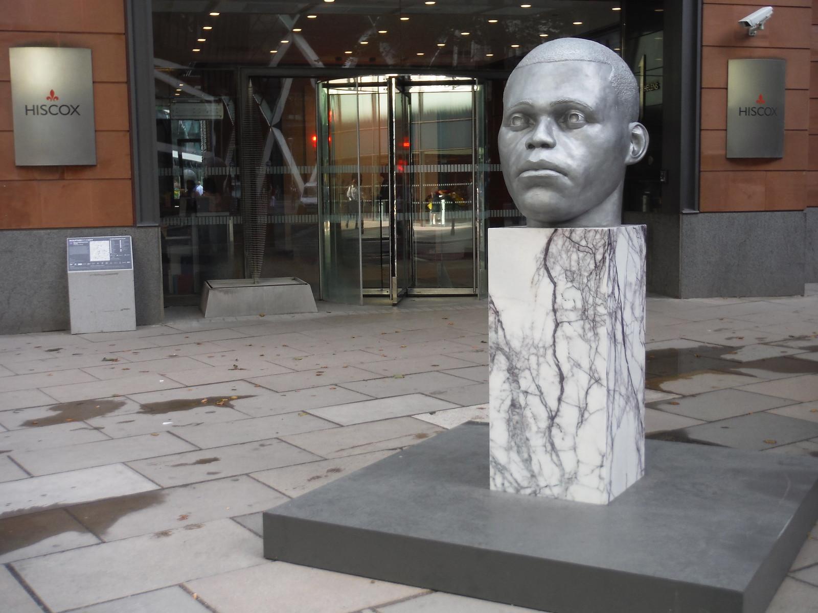 Thomas J Price - Numen (Shifting Votive Three) SWC Walk Short 24 - Sculpture in the City