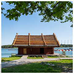 Pentala Archipelago Museum -- The Shore Building and Jetty
