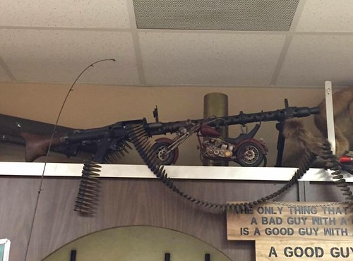 Saw this MG-34 at a pawn shop.