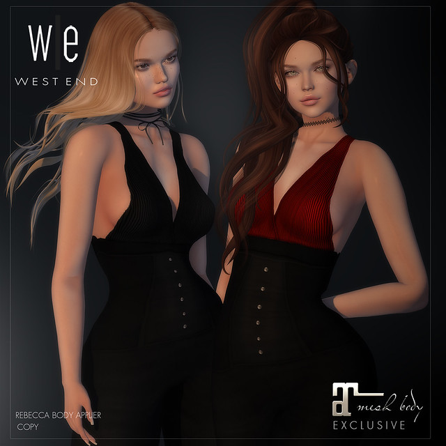 [ west end ] Apparel - Rebecca Applier (Maitreya)