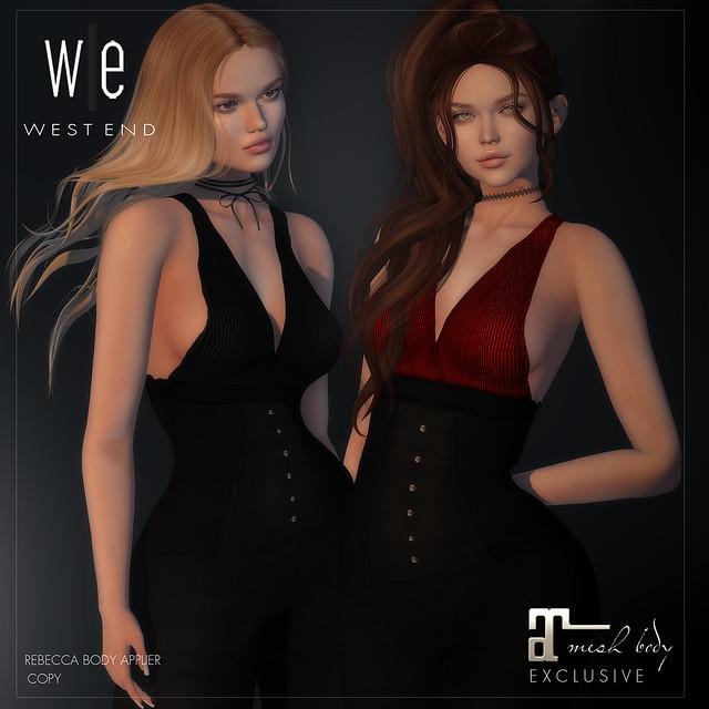 [ west end ] Apparel - Rebecca Applier (Maitreya)