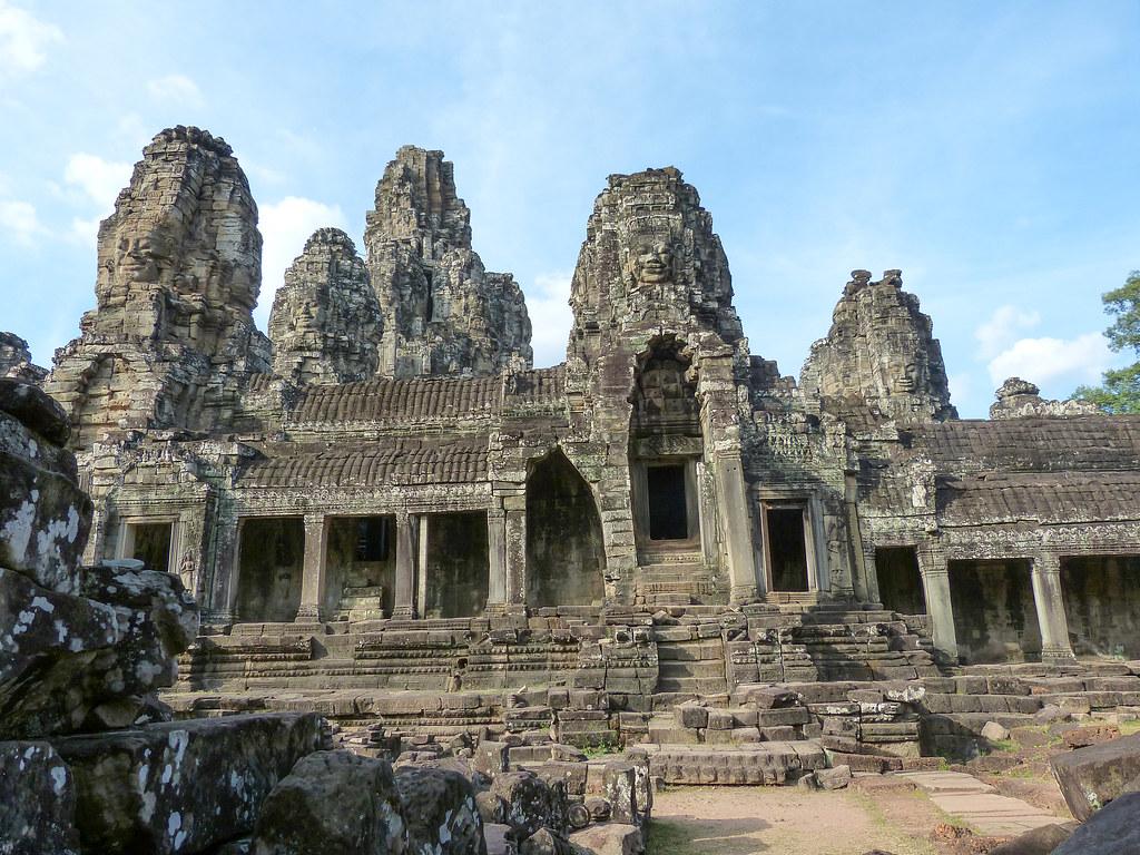 2018 Südostasien - Kambodscha - Angkor - Bayon