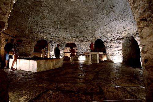 Spalato: cripta della cattedrale