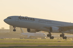 Qantas Airbus A330-303 VH-QPD | PVG