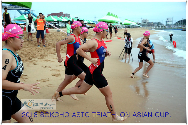 2018 Sokcho ASTC Triathlon Asian Cup / 제13회 속초 전국해양스포츠제전 / KTF시리즈 표준거리
