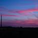 Sunset over Emley