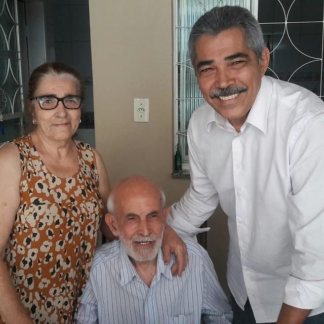 Visita ao bairro Santa Rita em Governador Valadares