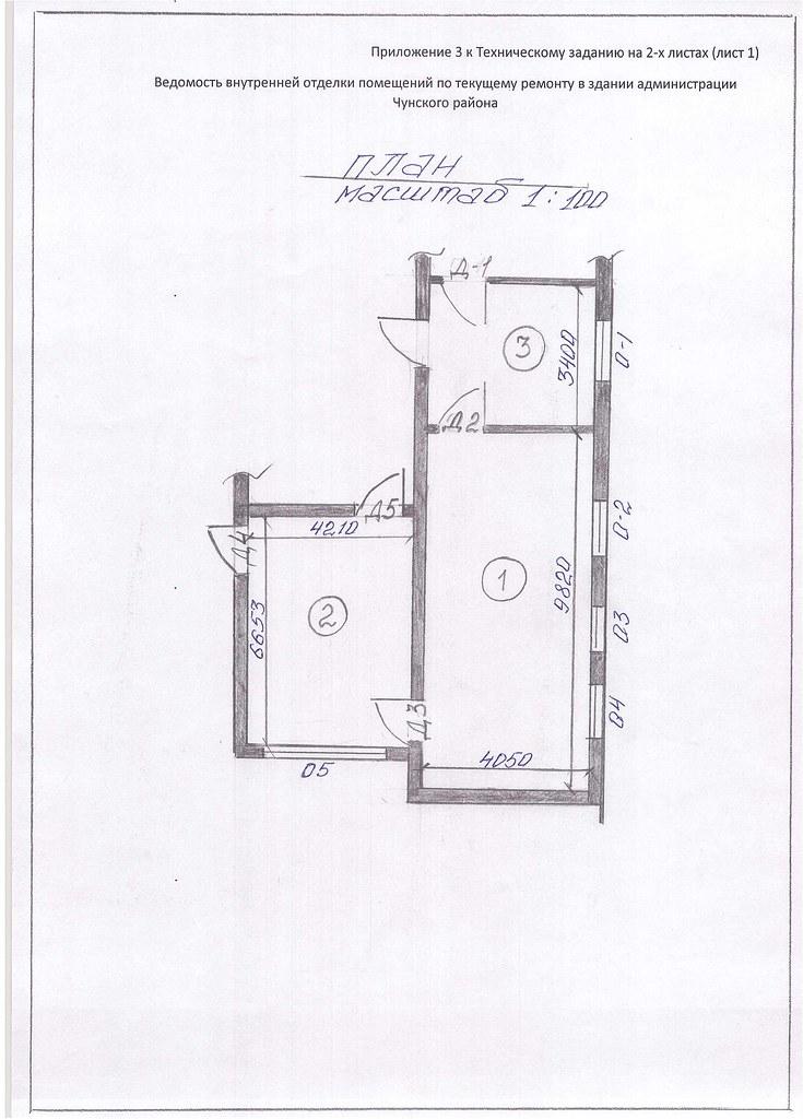 Приложение 3 к Техническому заданию лист 1.