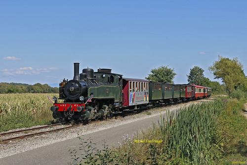 Mallet 020-020  Train N° 3 Cernay St André-Sentheim à Guewenheim
