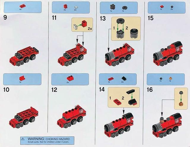 Zbuduj własny Mini Hogwarts Express 2