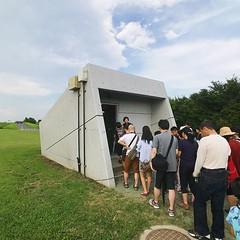 這次有報名參觀「地下神殿」,颱風過後終於重新開放,全日文團正好讓我離隊專心拍照,要準備進入地下道了! 【浪遊旅人】https://ift.tt/1zmJ36B #backpackerjim #underground #pipe #drainagesystem #kasukabe #saitama #japan