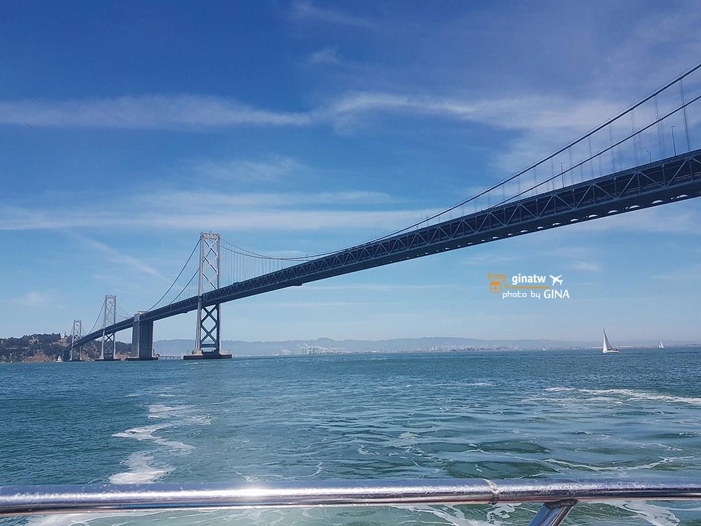 【舊金山景點】Rocket Boat 飛耀快艇推薦刺激.遊覽舊金山灣(San Francisco Bay)+39號碼頭(Pier 39)好吃冰淇淋(Dreyer's Waffle Cones) @GINA LIN