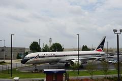 Boeing 757 at the Delta Flight Museum Atlanta Georgia