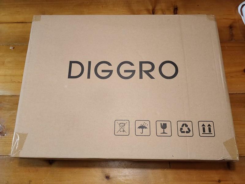 Diggro D300 ロボット掃除機 開封レビュー (1)