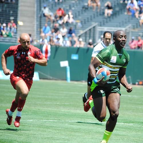 Wales v Zimbabwe #rugby #rwc7s #attpark
