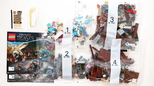 LEGO Wizarding World Newt's Case of Magical Creatures (75952)
