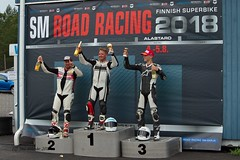 Finnish Road Racing 2018, Sat. 4.8.2018 Alastaro Racing Circuit.