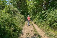 Walk in the country starting in Servieres