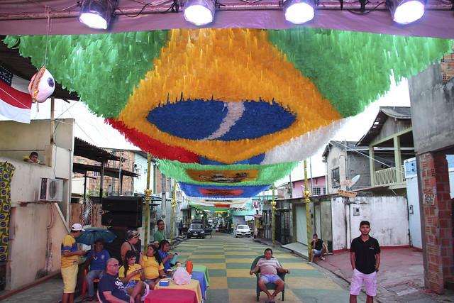 Ruas da Copa - 22/06/2018 - Transmissão Brasil x Costa Rica