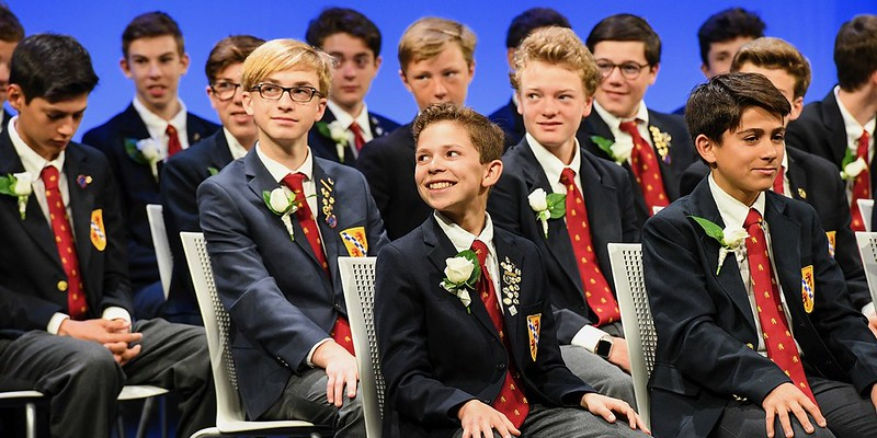 Stuart Hall for Boys Graduation 2018