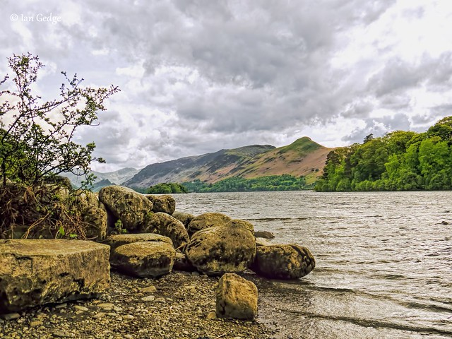 Derwentwater and Cat bells
