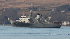 BNS GODETIA A960, Belgium Navy.