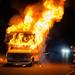 Mission Hills RV Fire by LAFD