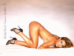 Miss Amal on rug