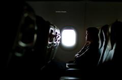 Woman At Plane