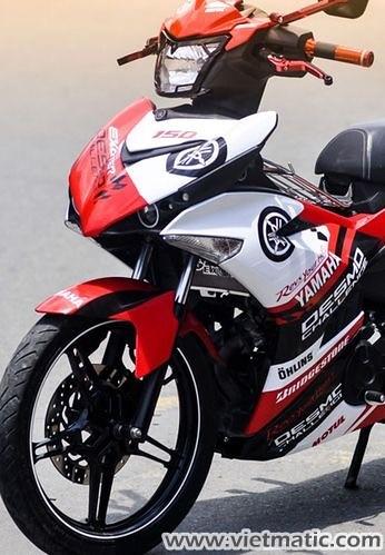 Yamaha Exciter dán Decal Đỏ - Trắng
