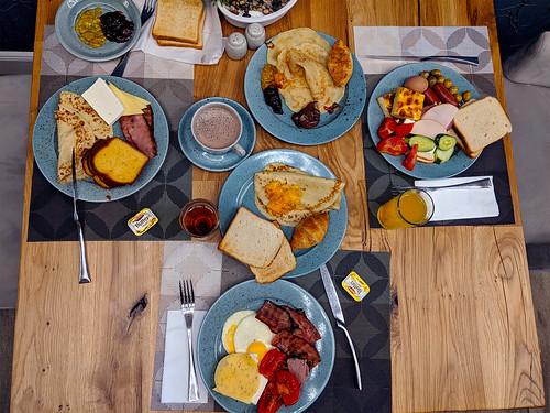 Big breakfast, pixel 2 xl