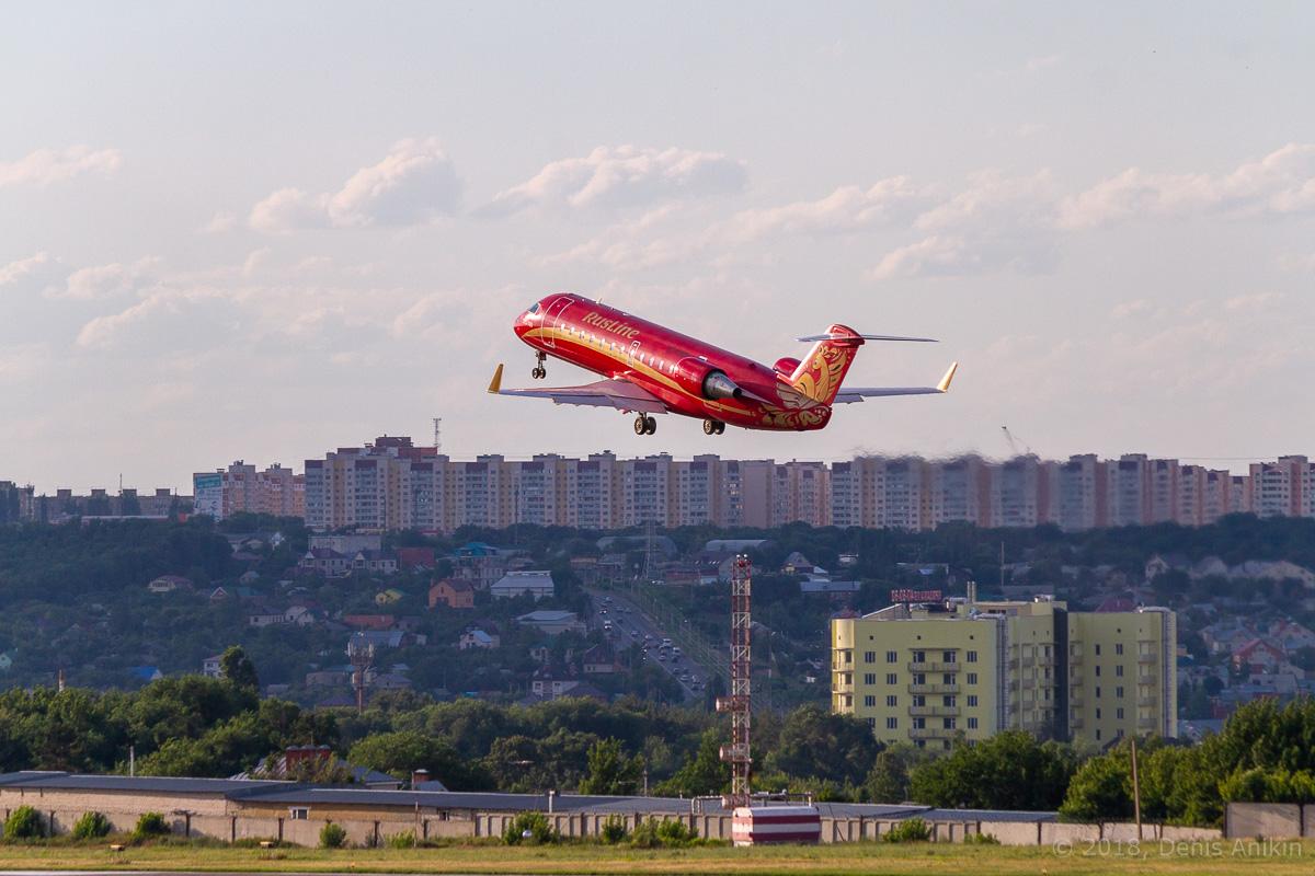 Rusline CRJ-100 VQ-BNA фото 9
