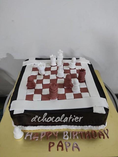 Cake by Divya Sawhney of D'Chocolatier