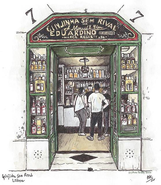 Lisbon Ginjinha sm