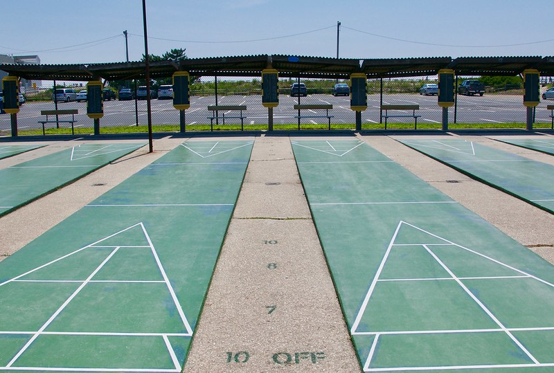 Ocean City NJ Shuffleboard Club - Retro Roadmap 2018