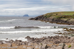 Skellig Michael from St Finan's Bay