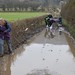 028-20180221_Gordano District-Somerset-crossing valley between Clapton in Gordano and Western in Gordano-walking group negotiating flooded track