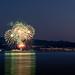 Feuerwerk am Bodensee